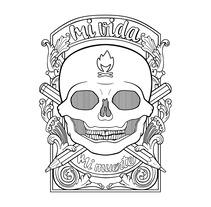 Mi vida, mi muerte. Un proyecto de Ilustración, Serigrafía y Tipografía de Antonio Guzmán Iñigo         - 19.09.2016