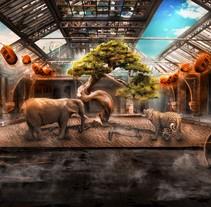 The Abandoned Tree, Mi Proyecto del curso: Secretos del fotomontaje y el retoque creativo. Um projeto de Fotografia de Jorge Soriano         - 25.09.2016