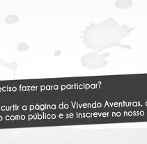 Diseño Vivendo Aventuras. Um projeto de Design, Publicidade, Direção de arte, Br e ing e Identidade de Alexandre Seabra         - 21.09.2016