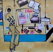 collage. Un proyecto de Diseño, Ilustración, Publicidad y Moda de Erika Kovarikova         - 22.09.2016