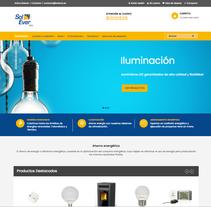 Diseño tienda online - Solever. Un proyecto de Desarrollo Web de Néstor Tejero Bermejo - 26-09-2016