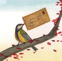 Cartas en el bosque. Un proyecto de Ilustración de Daniel  Montero Galán - Martes, 27 de septiembre de 2016 00:00:00 +0200