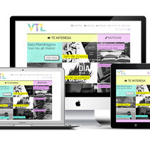 Web · Vive Tu Lírica. A Web Design, and Web Development project by Sara Morán - 19-06-2016