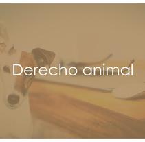 Jornadas de Derecho Animal. Un proyecto de Diseño gráfico de Conchi Fernández Regal         - 26.09.2016