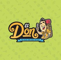 El Don Foodtruck. Un proyecto de Diseño, Ilustración, Diseño gráfico y Packaging de Jony Tentáculos         - 23.03.2015