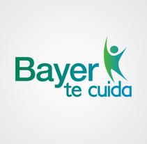 """Identidad Corporativa """"Bayer te cuida"""". Um projeto de Design, Br, ing e Identidade, Design gráfico, Marketing, Tipografia, Caligrafia e Mídias Sociais de Cristina Camazón Herráez         - 05.10.2016"""