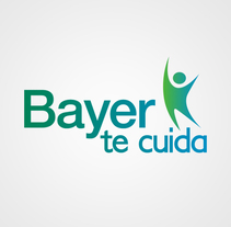 "Identidad Corporativa ""Bayer te cuida"". A Design, Br, ing, Identit, Graphic Design, Marketing, T, pograph, Calligraph, and Social Media project by Cristina Camazón Herráez         - 05.10.2016"