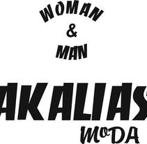 LOGO AKALIAS MODA. A Design, Fashion, and Graphic Design project by Montse Espinosa - 03-05-2016