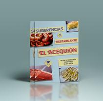 Portada para la carta del bar Acequión. A Design, and Graphic Design project by Javier Abellán García         - 18.06.2015