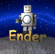 Ender, el principio y fin.. A 3D, and Character Design project by MJ Balsalobre - 13-10-2016
