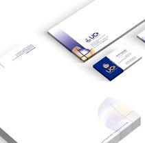 Identidad gráfica. UC10 infraestructuras. Un proyecto de Br, ing e Identidad y Diseño gráfico de vbernabe - 16-10-2016