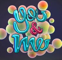 YOU&ME - 3DMAX, VRAY, PS. Un proyecto de 3D, Diseño de títulos de crédito, Diseño gráfico, Post-producción y Tipografía de GOEK.         - 17.10.2016