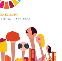 Diseño de cartel para Proyecta Valencia.. A Design, Graphic Design&Information Design project by Julia Furió Quesada         - 17.10.2016