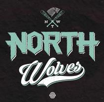 North Wolves Team (Game of Thrones). Um projeto de Design gráfico e Tipografia de Max Gener Espasa - 19-10-2016