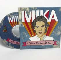 MIKA, cd ilustrado. A Illustration, Editorial Design, Graphic Design, and Packaging project by Rocío Giunta         - 19.06.2013
