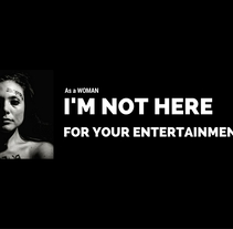 WomenNotObject. Um projeto de Cinema, Vídeo e TV de Andrea Huls Pareja         - 23.10.2016