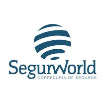 Actualización papelería Segurworld. Um projeto de Br e ing e Identidade de María González Sánchez         - 15.09.2016