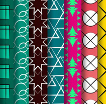 Patterns design. A Illustration, and Graphic Design project by Dani GC - Oct 25 2016 12:00 AM
