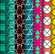 Patterns design. Un proyecto de Diseño gráfico e Ilustración de Dani GC - Martes, 25 de octubre de 2016 00:00:00 +0200