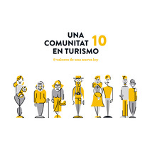Ley turismo Comunitat Valenciana. A Illustration, Animation, and Graphic Design project by nueve  - Nov 03 2016 12:00 AM