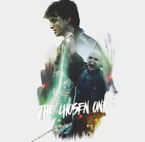 Harry Potter/Voldemort. Um projeto de Design, Ilustração, Design gráfico, Colagem e Cinema de Alberto Vega Galicia         - 08.11.2016