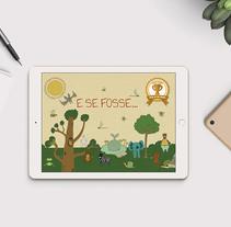 E-book interactivo. Un proyecto de Ilustración, Animación y Diseño interactivo de Bonaria Staffetta         - 02.09.2016