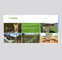 Web Asesoría Ambiental. Um projeto de Design gráfico e Web design de Rubén Jiménez Jerez         - 05.11.2016