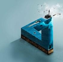 The impossible sea aplicado con elementos de Ecuador Ayangue. Un proyecto de Diseño y Dirección de arte de Jorge Soriano         - 13.11.2016
