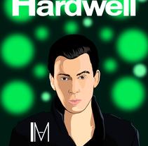 Hardwell Artwork. Um projeto de Design gráfico de thecataleman         - 13.11.2016