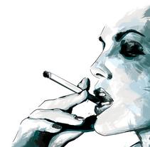 WOMEN_ Ilustraciones realizadas con técnica mixta, dibujo a mano alzada y digital painting.. Un proyecto de Ilustración de Tamara Baz         - 17.11.2016