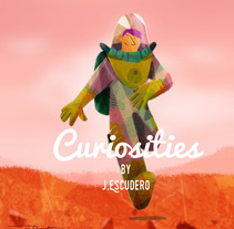 Curiosities . Marte.. A Design, Illustration, Motion Graphics, and Character Design project by Jesús Escudero         - 29.11.2016