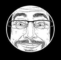 Sen! - Black & White . Un proyecto de Ilustración de Oscar Senonez         - 24.11.2016