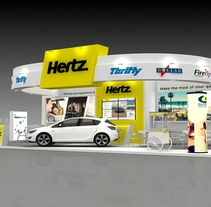 HERZT FITUR 2016. A 3D, Architecture, Events&Interior Architecture project by Daniel Rocha Castro         - 11.01.2016