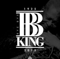 BB King. Um projeto de Design gráfico de Max Gener Espasa - 01-12-2016