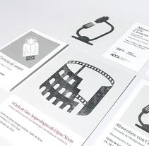 Ciclo de programas científicos. Un proyecto de Ilustración, Diseño editorial y Diseño gráfico de Juan Jareño  - 04-12-2016