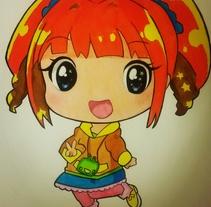 Manga niña. Un proyecto de Ilustración y Bellas Artes de Jose De Santos         - 05.12.2016