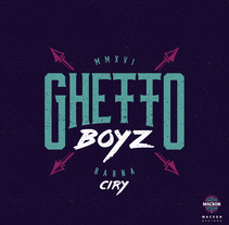 Ghetto Boyz . Um projeto de Design de vestuário e Design gráfico de Max Gener Espasa - 05-12-2016