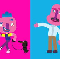 Diseño de personajes y concept art para Bilz y Pap 2016. Un proyecto de Dirección de arte y Diseño de personajes de Felipe Zavala Muñoz - 12-12-2016
