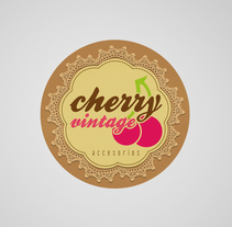 Cherry Vintage Accesorios. A Graphic Design project by Karen Mera         - 19.07.2012
