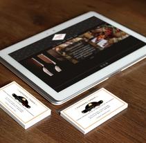 Branding e imagen empresarial para el Restaurante Catedral Tango. Un proyecto de Diseño, Br, ing e Identidad y Diseño gráfico de Lautaro Liajoff         - 18.06.2016
