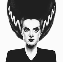Classic Monsters. Un proyecto de Ilustración de Joaquín  Rodríguez - 19-12-2016