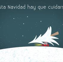 Felicitación Navidad Pfizer. Um projeto de Design e Animação de Adolfo Ruiz MendeS         - 19.12.2016