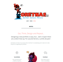 Mi Proyecto del curso de creación de una web profesional con WordPress. Un proyecto de Diseño Web de Germán Santero Moreno         - 30.12.2016