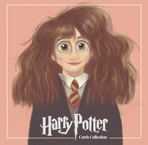 Harry Potter Cards Collection. A Illustration project by Antonio Ufarte         - 01.01.2017