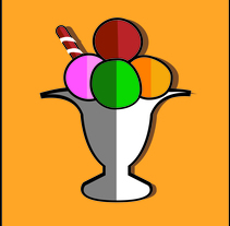 Ice Cream. A Graphic Design project by Marta Villegas - 03-01-2017