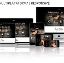 Sitio Web | RESPONSIVE: www.sushitake.es. Un proyecto de Diseño, Publicidad, Consultoría creativa, Marketing, Diseño Web, Desarrollo Web y Social Media de Eduardo García Indurria - 10-04-2016