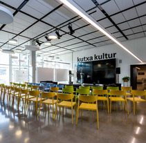 Kutxa Kultur Plaza. Un proyecto de Arquitectura interior y Diseño de interiores de TGA +  - 12-01-2017