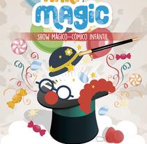 Cartel Nari-magic. Un proyecto de Diseño gráfico de Patricia Vilches - 12-01-2017