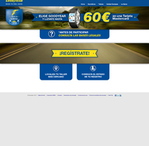 Diseño Web para Goodyear. Un proyecto de Diseño, Publicidad, Dirección de arte, Diseño gráfico y Diseño Web de Javier Gómez Ferrero - 13-10-2016
