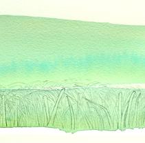 Tramuntana. Um projeto de Ilustração e Artes plásticas de Esther Aguilar         - 13.04.2016